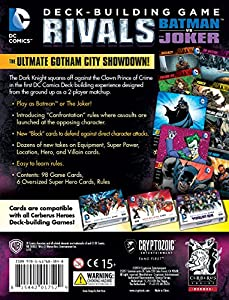 Batman DC Comics DBG Rivals Batman vs The Joker Card Game