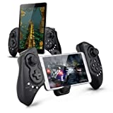 Wireless Android Controller, Megadream Gaming Gamepad Joystick for Samsung Galaxy Note 9 8 S9 S8 S7 S6 S5, HTC One, Sony Xperia, LG, Nokia Lumia Phone - Support Up to 10 inch Smartphone and Tablet PC (Color: Extendable Gamepad Type A, Tamaño: Waterproof Bluetooth Shower)