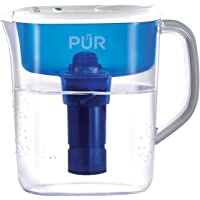 Honeywell PPT110W Ultimate 11-Cup Pitcher With Led (Clear/Blue)