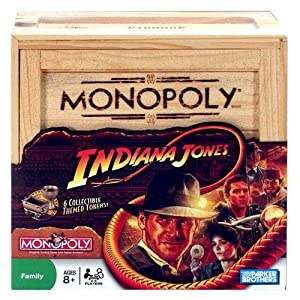 Indiana Jones games: Monopoly!