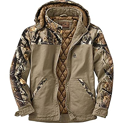 Legendary Whitetails Canvas Cross Trail Realtree Camo Workwear Jacket