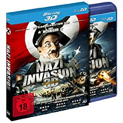 Nazi Invasion - Team Europe (Blu-ray 3D) [Region Free]