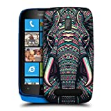 Head Case Designs Elephant Aztec Animal Faces Protective Snap-on Hard Back Case Cover for Nokia Lumia 610
