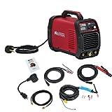 TIG-165, 160 Amp HF TIG Torch Stick Arc Dc Inverter Welder, 110V/230V Dual Voltage Welding (Color: Red, Tamaño: Full Size)