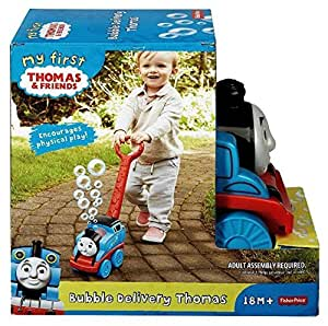 Fisher Price My First Thomas the Train Bubble Delivery Thomas