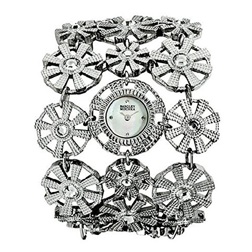 badgley-mischka-womens-ba1147mpsv-swarovski-crystal-accented-silver-tone-bracelet-watch