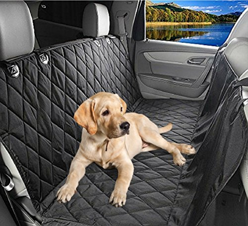 Waterproof Pet Car Seat Cover For Dogs - Universal Fit for Most Cars Trucks and SUV'S - Durable Seat Anchors and Nonslip Backing - Easily Clean Up Any Mess and Protect Your Seats (Dog Car Seat Covers Bmw compare prices)