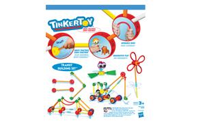 Tinkertoy Transit Building Set