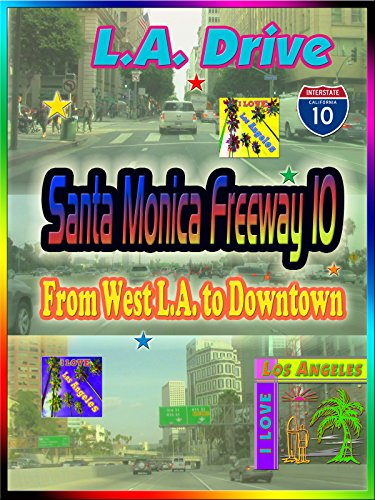 Clip: L.A. Drive Santa Monica Freeway 10 from West L.A. to Downtown