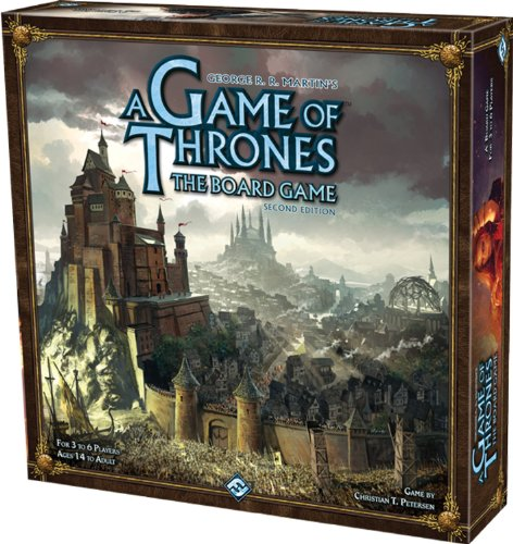 A Game of Thrones: The Board Game Second Edition - Christian T. Petersen