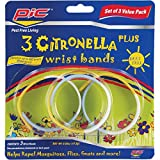 PIC BAND3 PIC Citronella Plus Wristband, 3 ct