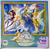 Disney Fairies 100 Piece Jigsaw Puzzle -...