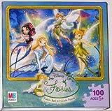 Disney Fairies 100 Piece Jigsaw Puzzle -...