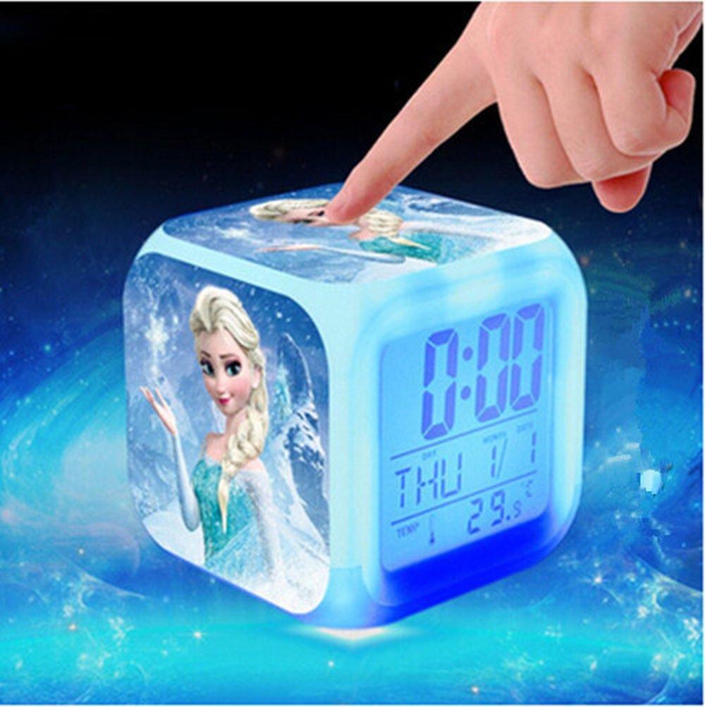 Elsa Frozen Alarm clock mit Lichteffekten online kaufen