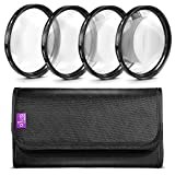 Altura Photo 67MM +1 +2 +4 +10 Close Up Macro Lens Set with Filter Pouch for Nikon Canon Sony Pentax Olympus Cameras