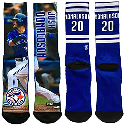 Toronto Blue Jays Josh Donaldson Player Photo Fieldstripe Crew Socks