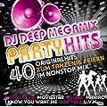 DJ Deep MEGAMIX PARTYHITS - 40 Originalhits im Nonstopmix