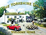 Kevin Walsh The Yorkshire Dales Large Metal Sign
