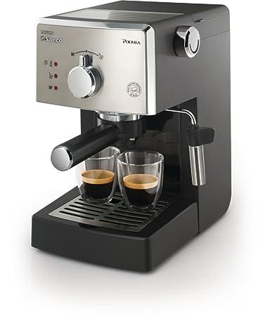 Saeco HD8325/47 Poemia Class Manual Espresso Machine, Black