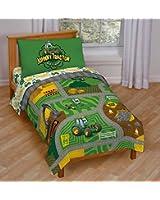 "John Deere ""Johnny Tractor Play"" Toddler Bed Set"