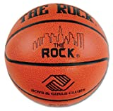 Anaconda Sports® The Rock® MG-4000-PC-B+GS Boys and Girls Clubs Regulation Size Composite Basketball