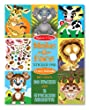 Melissa & Doug Make-a-Face Crazy Animals Sticker Pad