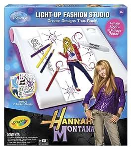 Crayola Hannah Montana Light Up Designer Studio Toys Games