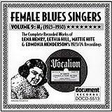 echange, troc Various Artists - Female Blues Singers 9: H