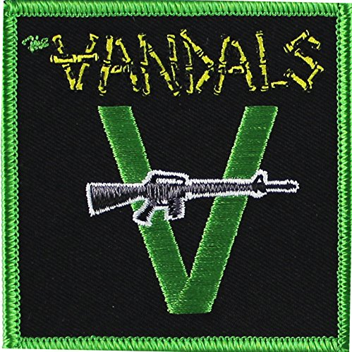 Application The Vandals with Gun Patch