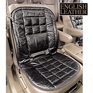Amazon.com: Genuine English Leather Lumbar Car Chair Back