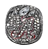 UNIVERSITY OF ALABAMA (Nick Saban) 2012 NCAA BCS NATIONAL CHAMPIONS (Back-to-Back Wins) Crimson Tide vs. Notre Dame Rare & Collectible High-Quality Replica College Football Championship Ring