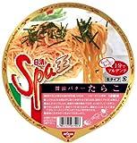日清 Spa王 醤油バターたらこ 186g×12食