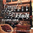Ground to a Halt: Jolie Gentil Cozy Mystery Series, Book 8 Audiobook by Elaine Orr Narrated by Dan Gallagher