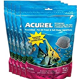 Acurel LLC Economy Activated Filter Carbon Pellets, 3-Pound - 5 pack