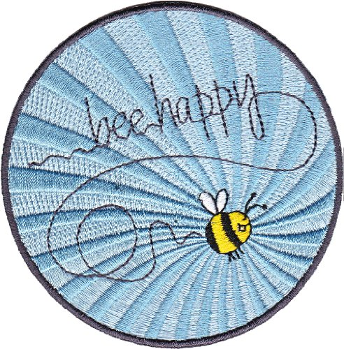 Application Animals Bumblebee Be Happy Patch