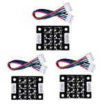 ARQQ TL Smoother Addon Module for Pattern Elimination Motor Clipping Filter 3D Printer Stepper Motor Drivers (Pack of 3pcs) (Color: 3 PCS)