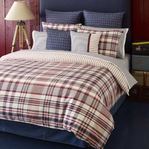 Red Duvet Cover Twin front-122060