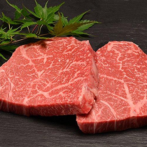 黒毛和牛A5ランクの長期低温熟成赤身モモ肉ステーキ 150g×2枚!