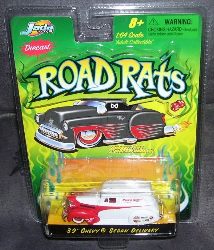 Jada Toys Road Rats '39 Chevy Sedan Delivery Diecast Truck 1:64 - 1