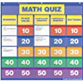 Scholastic Teacher's Friend Math Class Quiz: Grades K-1 Pocket Chart Add-ons, Multiple Colors (TF5410)