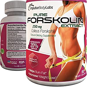 Forskolin Belly And Thigh Fat Burner Organic Healthy Herbal Extract Metabolism Booster Appetite Suppressant Easy Fast Weight Reduction 60 Veggie Capsules 250 Mg 20 Standardized Made In Usa 30 Day Unconditional Money Back Guarantee Try It For 30 Days If Yo