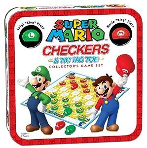 Super Mario Checkers/Tic Tac Toe Combo from Super Mario