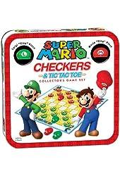 Super Mario Checkers/Tic Tac Toe Combo