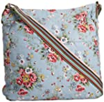 SwankySwans  Kirsty Floral Cross, Sac...