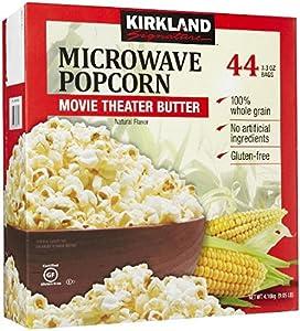 Amazon.com: Kirkland Signature Microwave Popcorn, 3.3 oz, 44 Count