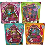 Lalaloopsy Mini Lala Oopsy 4 Doll Set Princess Anise, Saffron, Nutmet, and Juniper Oopsies Collection