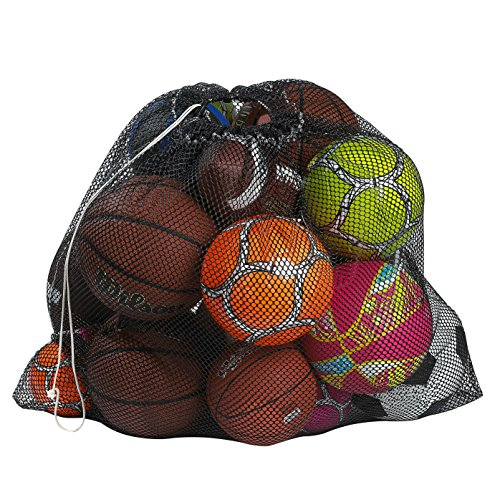 mesh-equipment-bag-black-24-x-36-adjustable-sliding-drawstring-cord-closure-perfect-mesh-bag-for-par