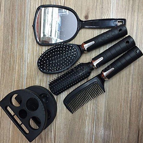 5pcs-women-ladies-hair-brush-massage-comb-mirror-holder-set-makeup-dressing-tool