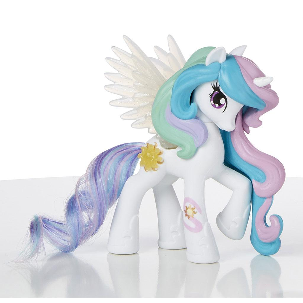 Amazon.com: My Little Pony Equestria Girls Celestia Doll and Pony Set