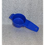 Tupperware Gadget Mini Sifter Loose Tea Strainer Brilliant Blue #879 By Tupperware